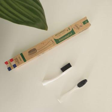 Tête interchangeable brosse à dents