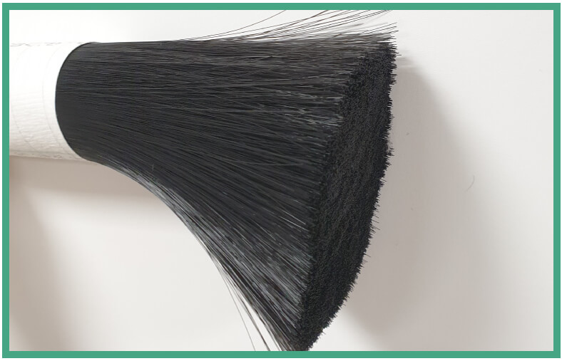 Filaments poils base végétale brosse à dents